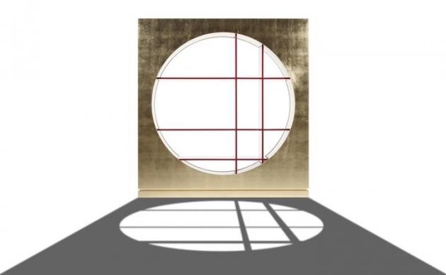 Knihovna Hole (Erba) využívá těch nejjednodušších geometrických tvarů a vytváří z nich velmi efektní a zapamatovatelný design.