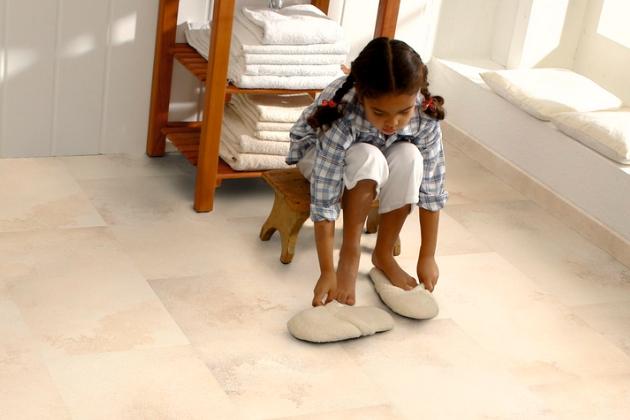 Ekologická elastická podlaha Wineo PURLINE, kolekce Stone