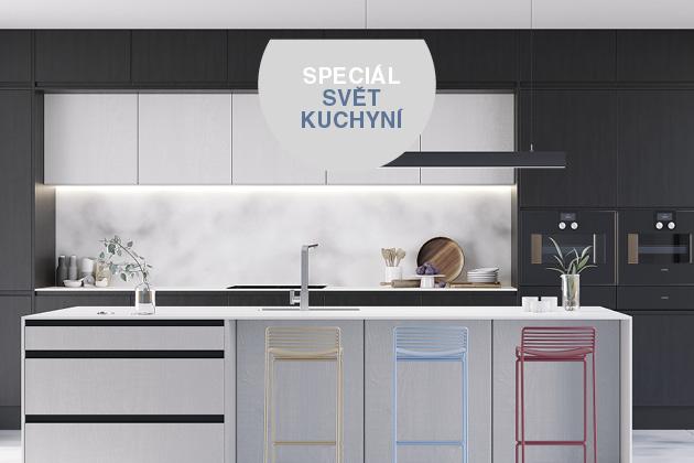 Velké téma: Barva kuchyně 3× jinak