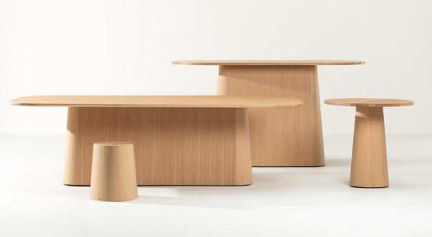 Modulární systém P. O. V. (TON), tedy Point of View, sestává z několika základních prvků, jejichž vzájemnými kombinacemi lze vytvořit téměř 70 variant stolu.