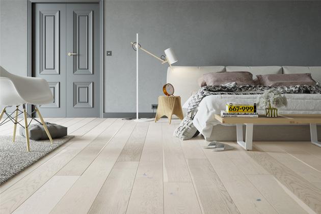 Dřevěná podlaha Cappuccino Grande