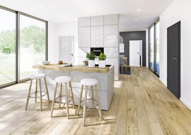 Minimalistické interiérové dveře s hladkým i strukturovaným povrchem z řady ConceptLine s odolným a snadno udržovatelným povrchem Duradecor, cena k doptání u výrobce, WWW.HORMANN.CZ