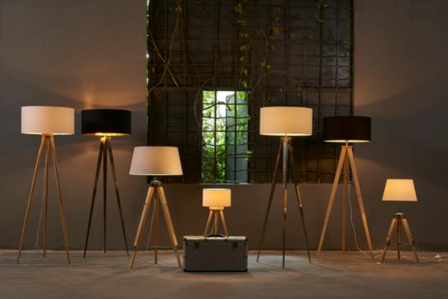 Stojací lampa má být nejen praktická, ale také elegantní