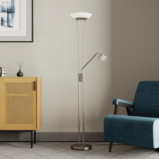Stojací lampa se hodí do každého bytu nebo domu