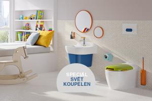 Velké téma: Dětská koupelna 3x jinak