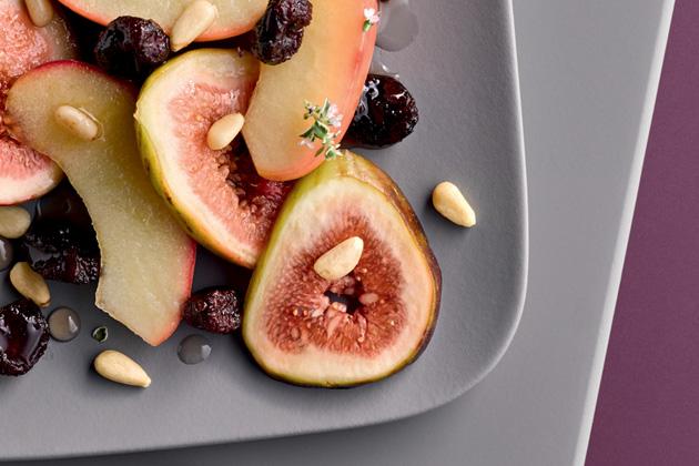 Ragú z jablek a fíků