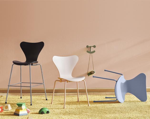 Dětská židle Series 7 Children's Chair (Fritz Hansen), cena 8 131 Kč, WWW.STOCKIST.CZ